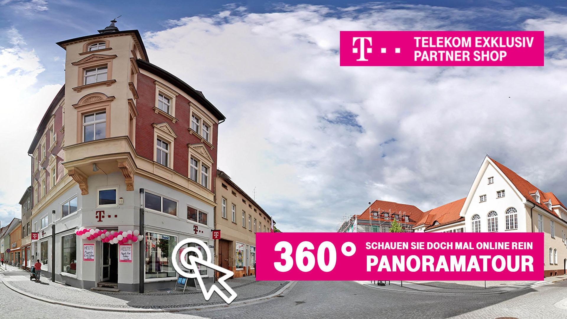 Telekom Exklusiv Partnershop - 360 Grad VR Panoramatour von Daleen.de